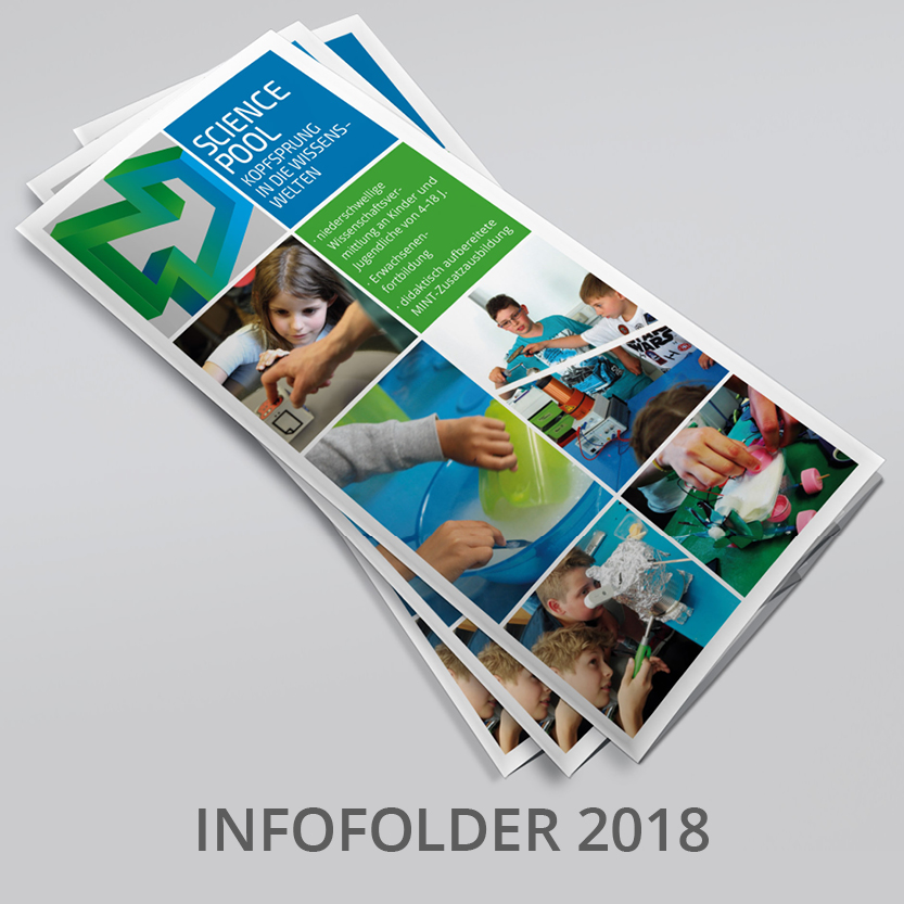 Science Pool Infofolder